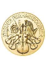 1/25 Unze Gold Philharmoniker 1,24 g