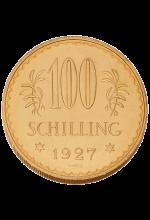 ATS 100,- Gold 1. Republik