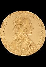 4-fach Dukaten Gold Österreich 13,76 g