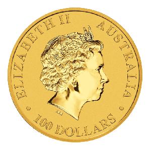 1 Unze Gold Nugget / Känguru 31,10 g